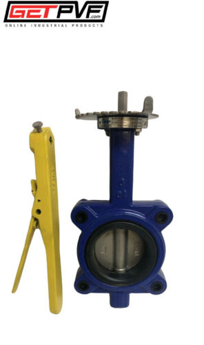 "3"" Lug Butterfly Valve Ductile Iron Body 316 SS Disc"