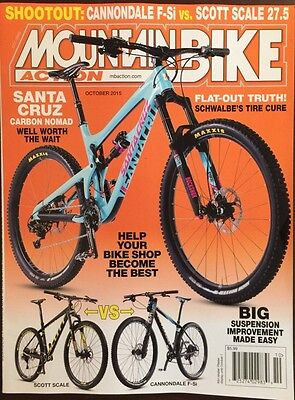 Mountain Bike Action Help Your Bike Shop Become The Best Oct 2015 FREE SHIPPING!
