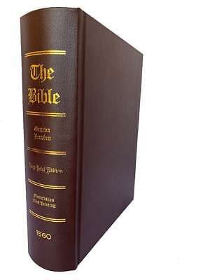 1560 Geneva Bible, 1st Edition Perfect Facsimile Reproduction