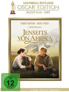 MAS-ALLA-DE-Africa-Oscar-Edicion-ROBERT-REDFORD-Meryl-Streep-2-Caja-de-DVD-Nuevo