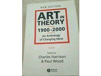 Art on Theory 1900-2000