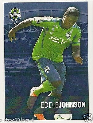 2012 Franz Bakery Bread MLS Seattle Sounders FC Eddie Johnson