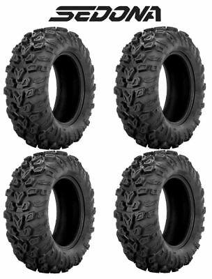 - 4 Sedona Mud Rebel RT 30x10-15 FRONT/REAR Complete Set ATV/UTV Mud Tire 30x10x15