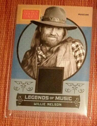 2014 Panini Golden Age Legends of Music Memorabilia #3 Willie Nelson