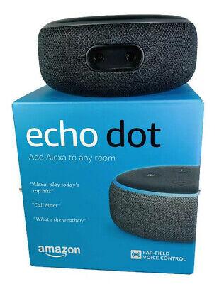 Amazon Echo Dot Charcoal 3rd Generation Voice Control Media Device with Alexa