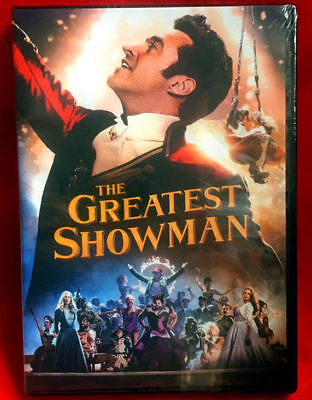 The Greatest Showman (DVD,2017)NEW Drama Free Shipping