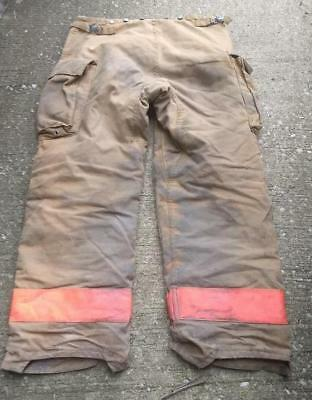 Morning Pride Firemans Turnout  Bunker Pants Gear 36/33 Globe Fire Dex Securitex