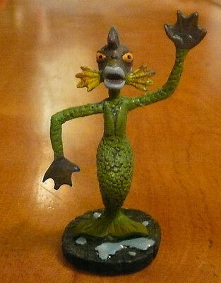 Swamp Creature Figure Hawthorne Village Tim Burton's Nightmare Before Christmas