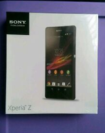 Brand new sealed Sony Xperia Z C6603 (Unlocked) 16gb - Black