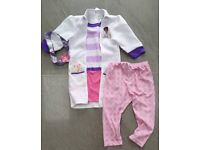 Doc McStuffins outfit age 5-6. VGC. From a smoke free and pet free home.