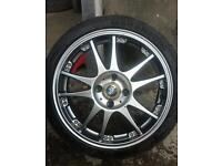 "Set of 4 17"" Alloys in vgc"
