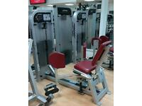 Life fitness adductor/inner thigh machine
