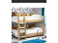 Julian Bowen Bunk Bed with x1 shelving