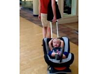 Brica Roll Car Seat Transporter Roll n Go