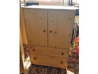 Pine Wood Outer with White Coloured Wood inner - Dresser - £20