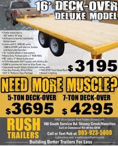 Deck -over equipment