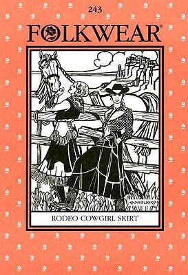 Reiten-kostüm (Western Rodeo Cowgirl Rock Folkwear 243 Nähen Tanz Reiten Kostüm Muster)