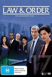 Law  & Order : Season 17 (DVD, 6-Disc Set) BRAND NEW SEALED