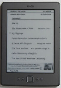 Excellent Condition Kindle and Kobo Ebook Readers