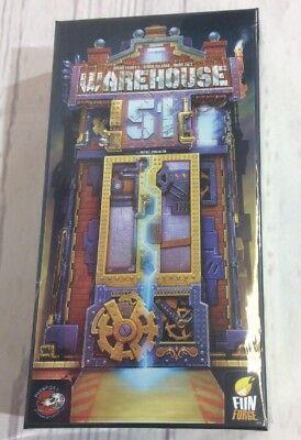 Warehouse 51 Card Game NIB Sealed Fun Forge Passport Game Studios 2015 ()