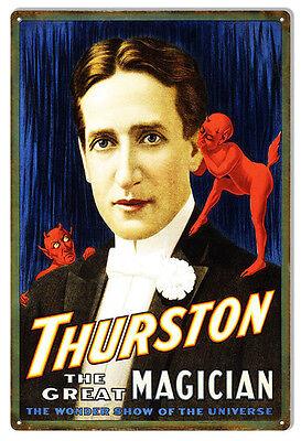 Nostalgic Thurston The Great Magician Sign 12X18