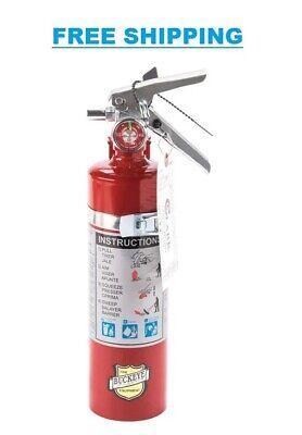 Buckeye 2.5 Lb. Abc Fire Extinguisher - Rechargeable With Dot Vehicle Bracket -