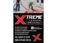 Upholstery cleaning . gutter vac clean .water fedpole window cleaning