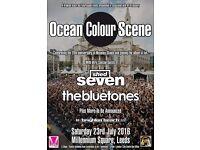 2x Tickets for Ocean Colour Scene, Leeds Millenium Square, Saturday 23rd July
