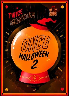 TWICE FANMEETING ONCE HALLOWEEN 2 2019 OFFICIAL GOODS SPECIAL PHOTO
