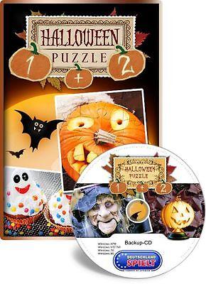 Halloween Games Jigsaw Puzzles (Halloween-Puzzle 1 + 2 - Holiday Jigsaw Halloween - PC - XP / VISTA / 7 / 8 /)
