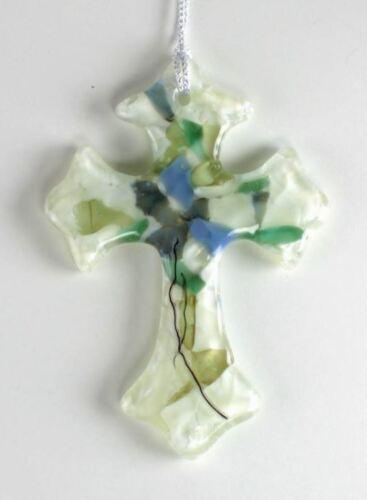 Small Cross Mold - Glass Fusing #LF161