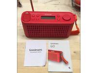 Goodmans go speakers/radio
