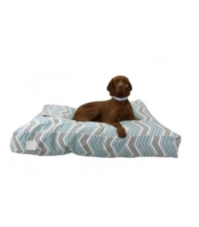 T&S Dog Beds - 2 x Large Modern Chevron Floor Cushions (RRP: $270) Altona North Hobsons Bay Area Preview