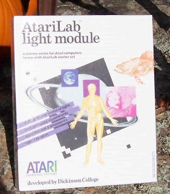 Lab Light Module W/Cartridge New Atari NIB 800/XL/XE
