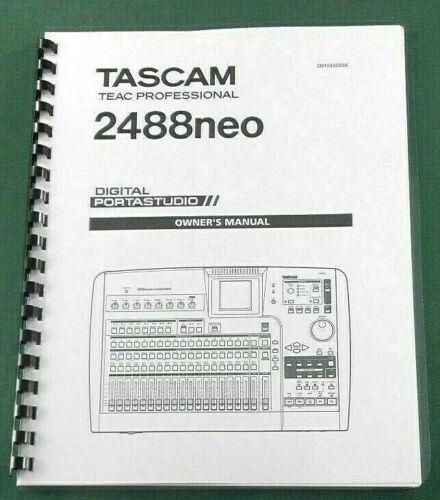 Tascam 2488neo Owner