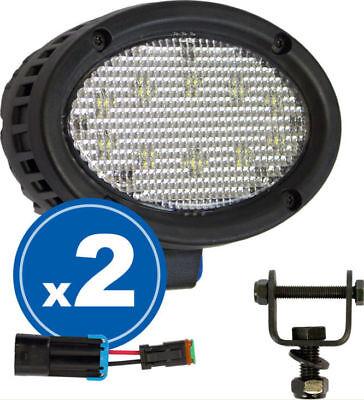 John Deere 8020t-8030t Series Led Cabfender Pr Light Kit Tyri 1015 - 1800 Lumen