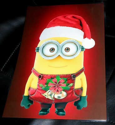 Minions Schreibtischunterlage X-mas Christmas Weihnachten laminiert abwaschbar.* ()