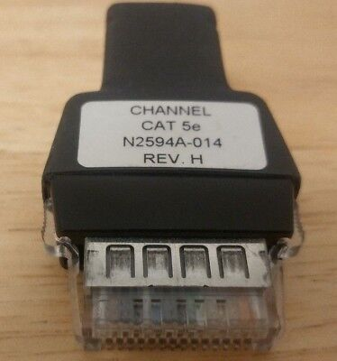 Agilent Wirescope N2594a 014 Channel Cat 5e Lan Network Link Test Probe Adapter