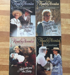 4 Road to Avonlea Series Books by Lucy Maud Montgomery