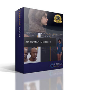 3d Human Modeling Animation Software For Pc And Mac Ebay