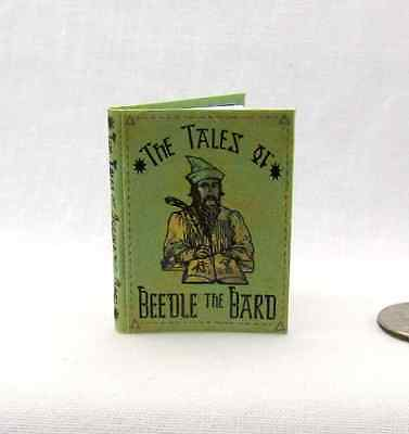 THE TALES OF BEEDLE THE BARD 1:6 Scale Readable Book Miniature Potter Magic