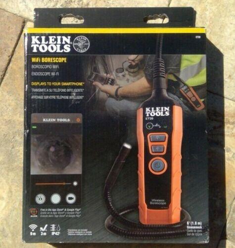 🌟🎈 Klein Tools ET20 Wifi Borescope Inspection Camera 🌟
