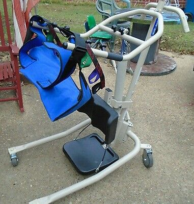 Hoyer, Invacare Get-U-Up Hydraulic Patient Lift with Sling