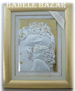 Quadro klimt le tre et della donna quadri in argento oro for Quadri in argento