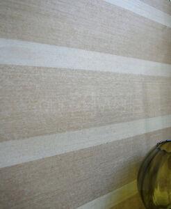 Basel-stripe-striped-stripey-wallpaper-in-Brown-Taupe-Metallic