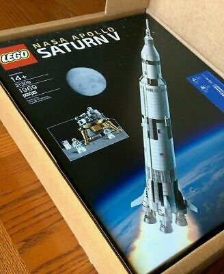 Lego Ideas 21309 NASA Saturn V Brand New and Sealed