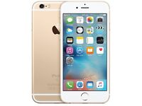 iPhone 6s Plus 16gb gold on 02 few months old