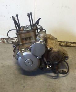 Base moteur + cylindre piston ltz 400/kfx400/dvx400