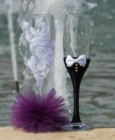 Champagne glasses - perfect your bridal shower