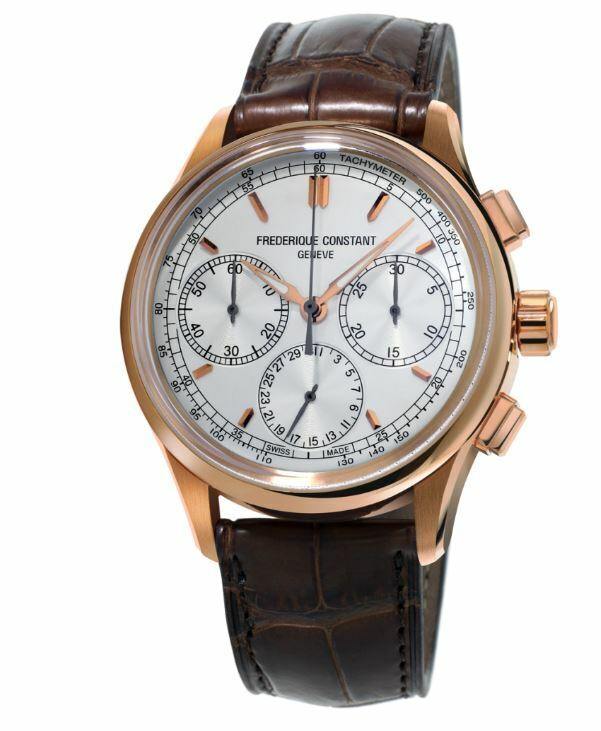 Frederique Constant Men's Flyback Chronograph Manufacture 42mm Watch FC-760V4H4 - watch picture 1
